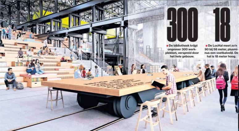 artikel brabants dagblad Seats2meet tilburg spoorzone