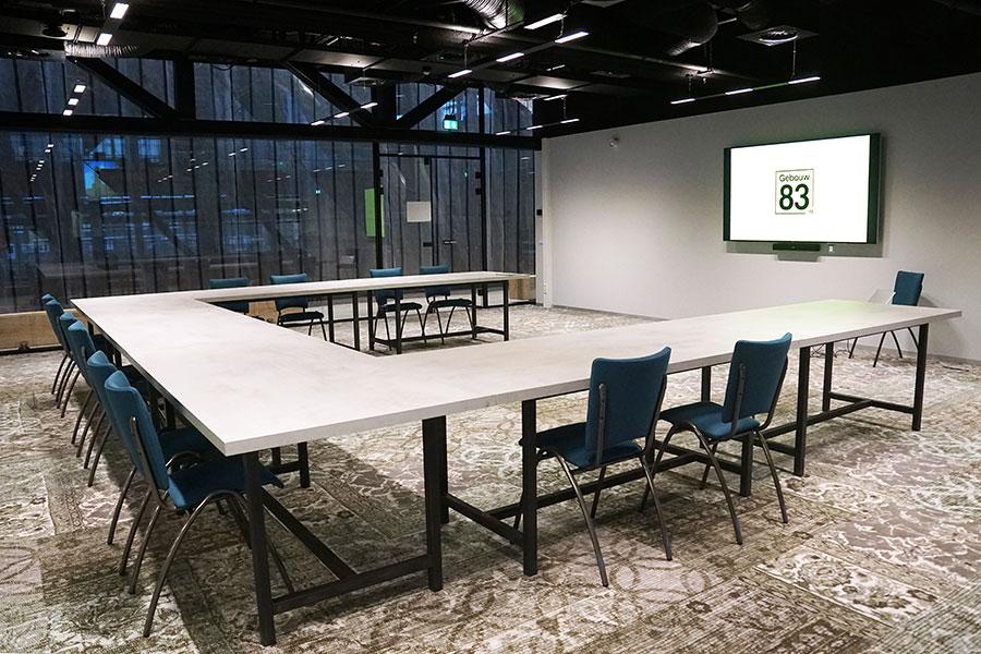 Kunst vergaderzaal in Tilburg meer dan 50 personen