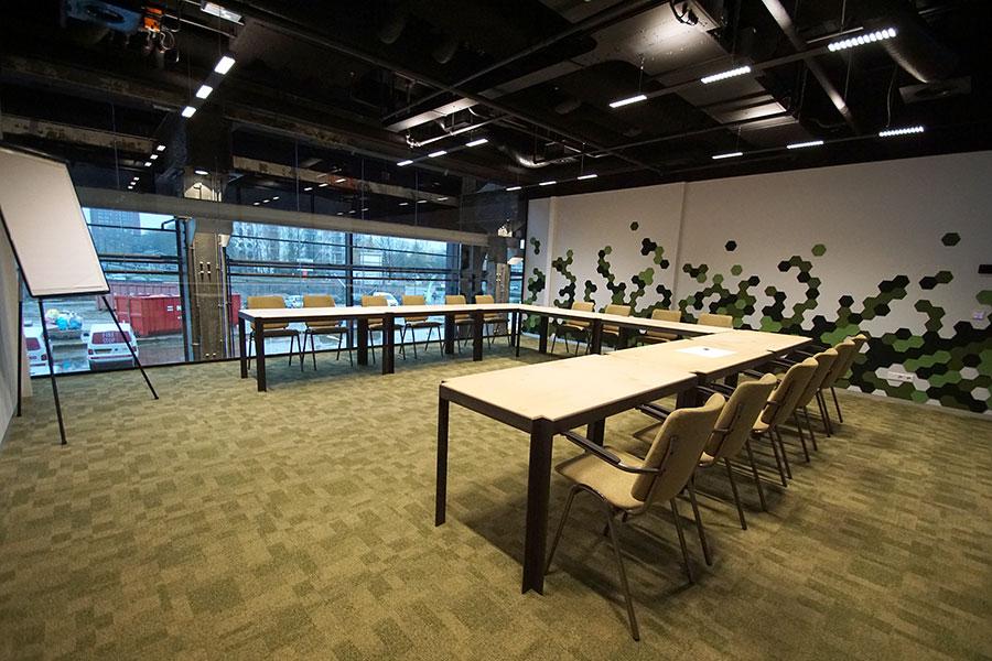 vergaderen Tilburg 24 personen Textiel