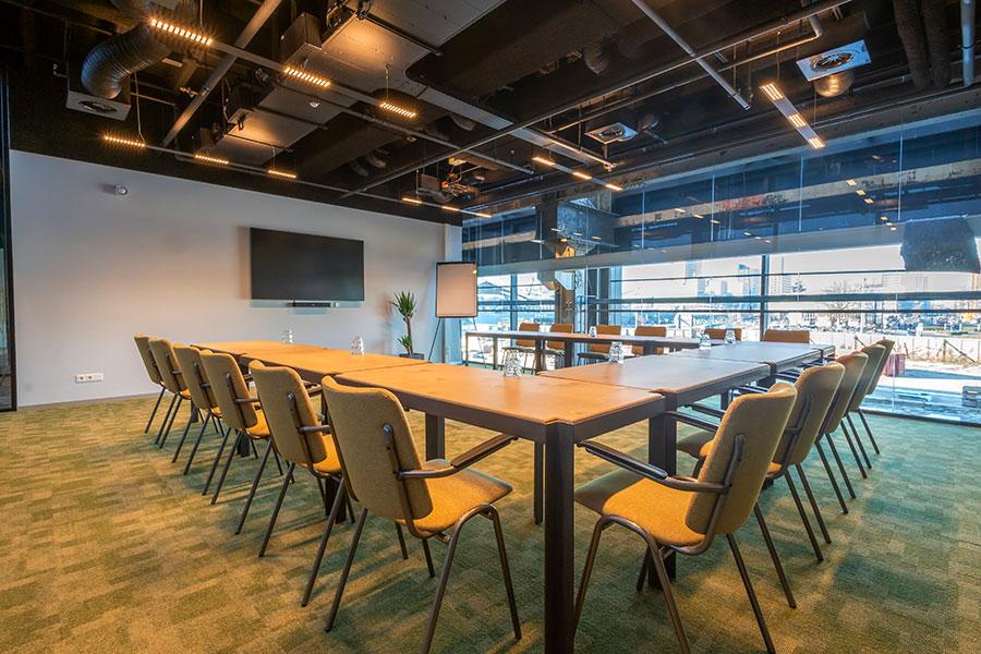 Seats2meet LocHal vergaderzalen Tilburg Textiel