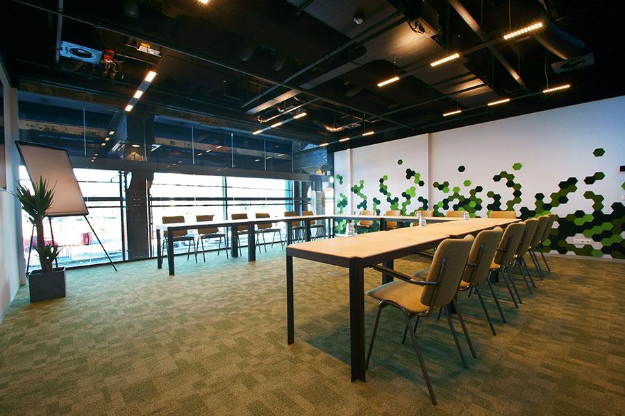 Seats2meet vergaderzalen LocHal Tilburg Textiel