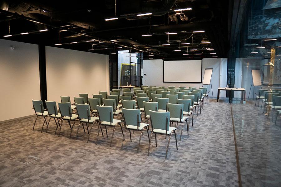 Seats2meet LocHal Tilburg Vergaderzaal Werkplaats theater opstelling 2