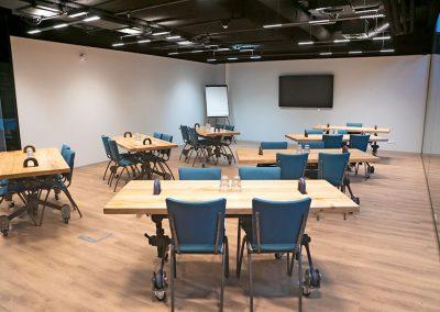 Vergaderzaal Restauratie Seats2meet Tilburg Spoorzone