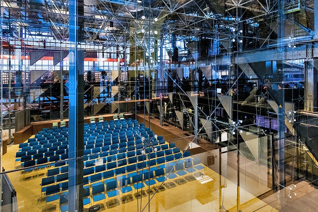 Glazen Zaal Seats2meet Tilburg Spoorzone