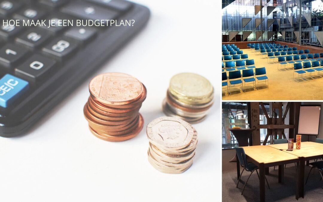 Hoe maak je een budgetplan?