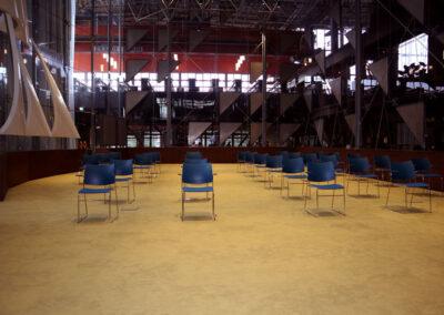 Vergaderzaal Glazen Zaal5 - Seats2meet Tilburg Spoorzone