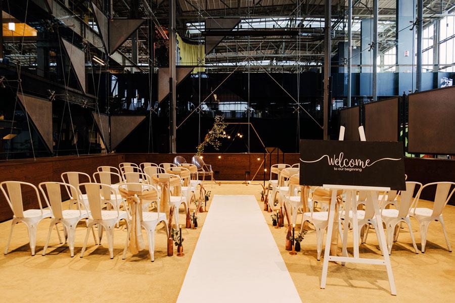 styling trouwen in de LocHal- seats2meet tilburg spoorzone
